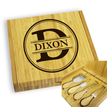Personalized Cheese Board and Knife Set