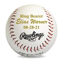 Custom Personalized Baseball