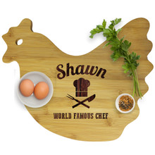 Personalized Animal Shaped Cutting Boards