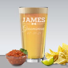 Custom Engraved Pint Beer Glass
