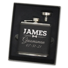 Groomsmen Flask Gift Box Set