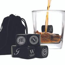 Personalized Whiskey Stones - Set of 9