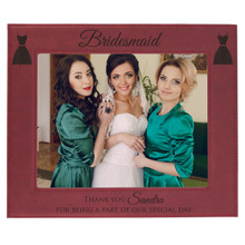 Personalized Wedding Party Bridesmaid Frames