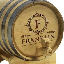 Personalized 1 Liter Oak Whiskey - Wine Barrel