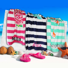 Personalized Kids Beach Towel