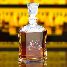 Custom Whiskey Decanter - Fancy Design
