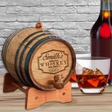 Custom Whiskey Wine Keg - Barrel Aged Design