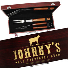 Personalized Grilling Utensil Tool Set