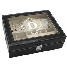 Personalized Jewelry Storage Organizer Box