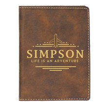 Personalized Passport Holder Travel Gift