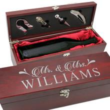 Personalized Wine Gift Box