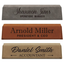 Personalized Custom Engraved Desk Name Plate