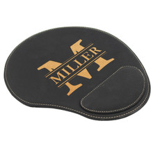 Personalized Mouse Pad With Wrist Rest