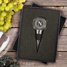 Personalized Crystal Wine Bottle Stopper