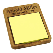 Personalized Sticky Note Holder Dispenser