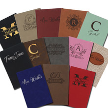 Custom Engraved Personalized Journals and Notebooks