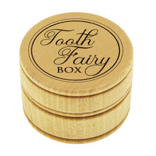 Wood Tooth Fairy Box for Kids