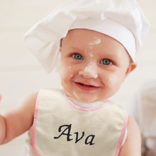Personalized Baby Name Bib and Burp Cloth Sets