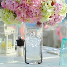 Personalized Wedding Flower Vase