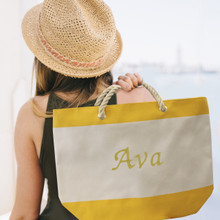 Personalized Beach Tote Bag
