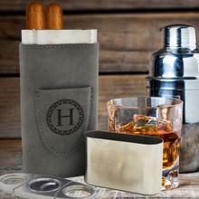 Custom Monogrammed Cigar Travel Case