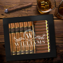 Personalized Cigar Box Humidor