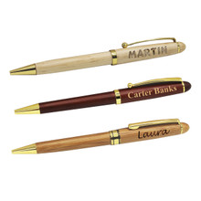 Custom Personalized Wood Ballpoint Pen