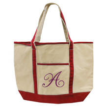 Custom Embroidered Canvas Tote Bag