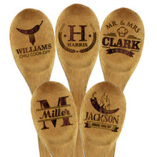 Custom Engraved Wooden Spoon