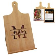 Custom Engraved  Cookbook Recipe Stand