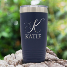 Custom Engraved Stainless Steel Insulated Travel Tumbler
