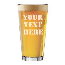 Custom Engraved 16 oz. Pint Beer