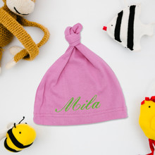 Custom Embroidered Baby Beanie Hat