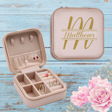Travel Jewelry Case Personalized