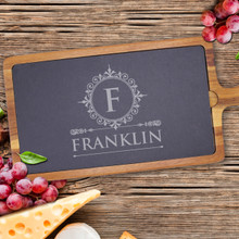 Personalized  Slate Cheese Board Tray