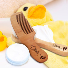 Personalized Baby Brush and Comb Set