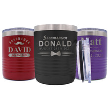 Custom Personalized Low Ball Cup