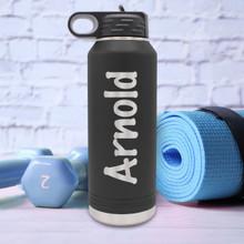 Custom Premium 32 oz Sports Water Bottle