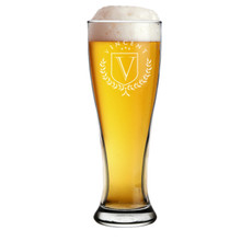 Customizable 16 oz Pilsner Beer Glass