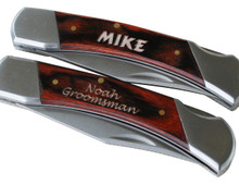 Personalized Lock Back Pocket Knife