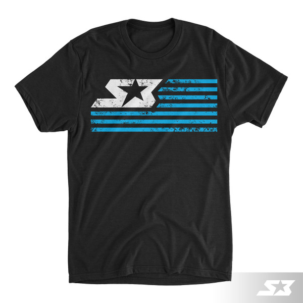 S3 Power Sports Neon S3 Nation T-Shirt