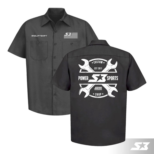 S3 Power Sports Work Shirt