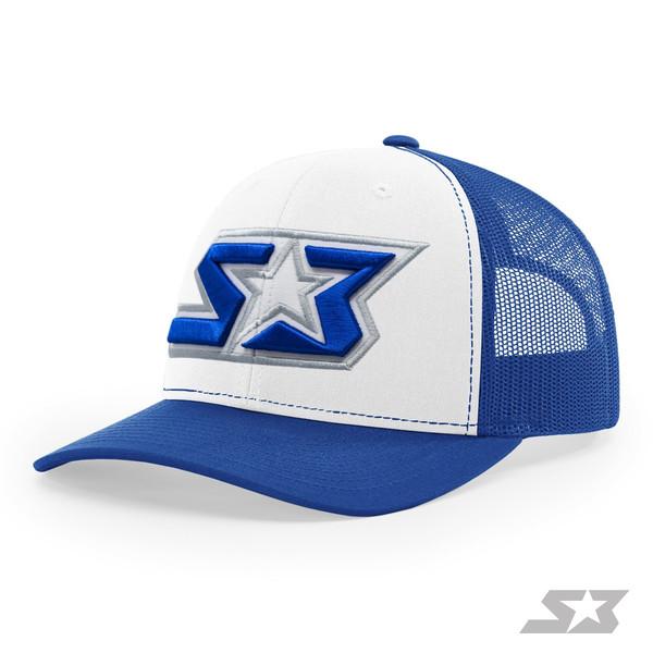 S3 Power Sports 3D Logo Trucker Hat