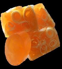 Peach soap