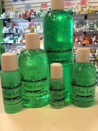 shower gel-green