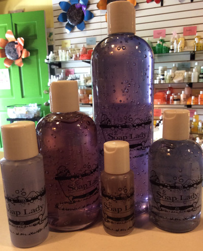 Lavender vanilla shower gel