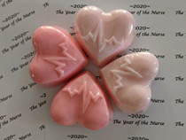 nurse heart Soap