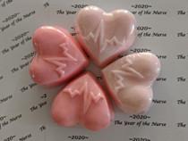 nurse heart Soap