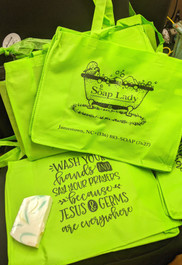 Tote Bags - Wash Your Hands