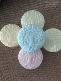 Tree of Life Bar soap in multi-colors and scents
